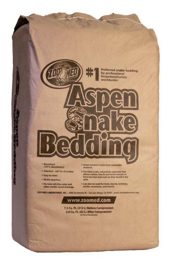 Zoo Med Aspen Snake Bedding 7 5 Cu  Ft  Bale